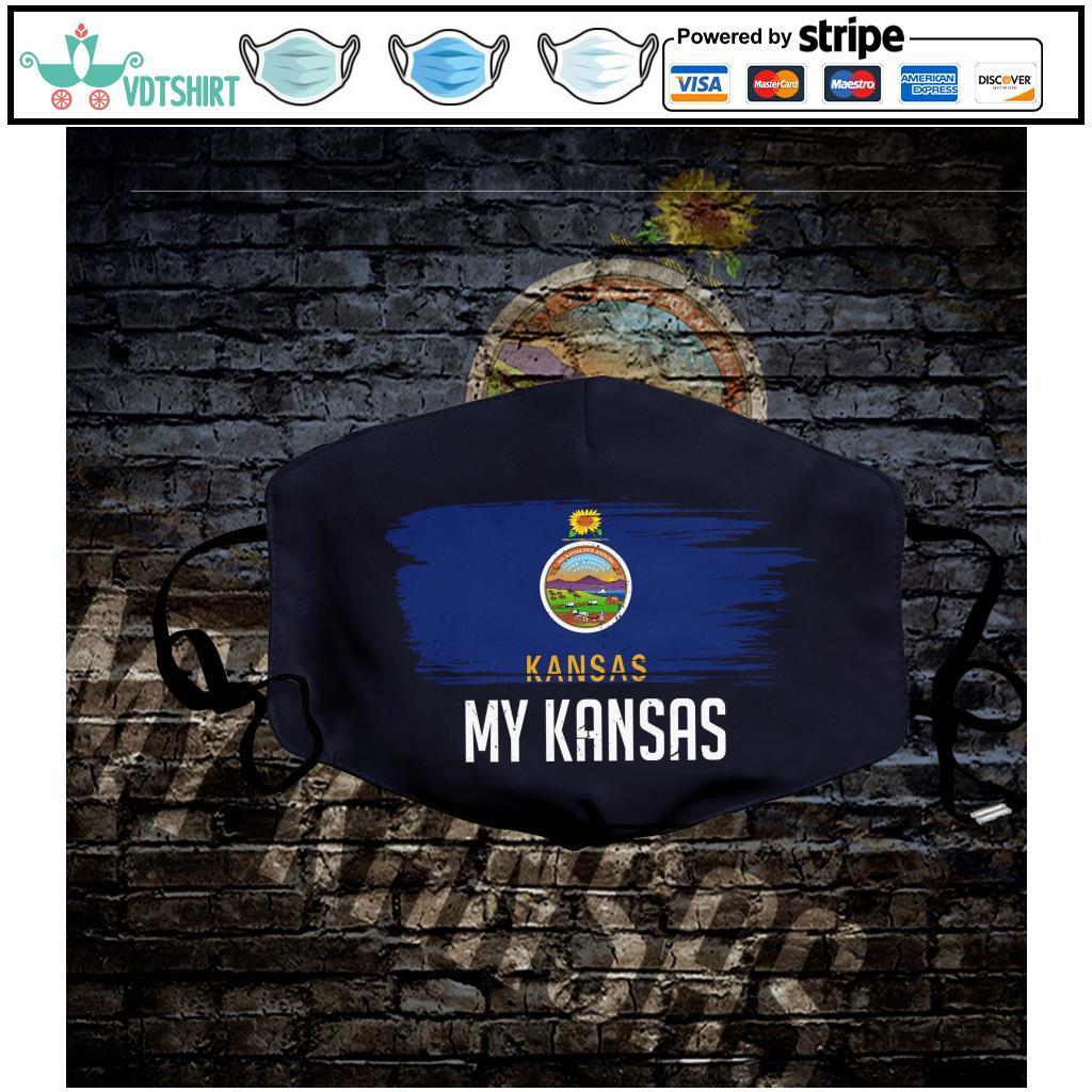 My Kansas Flag Face Mask