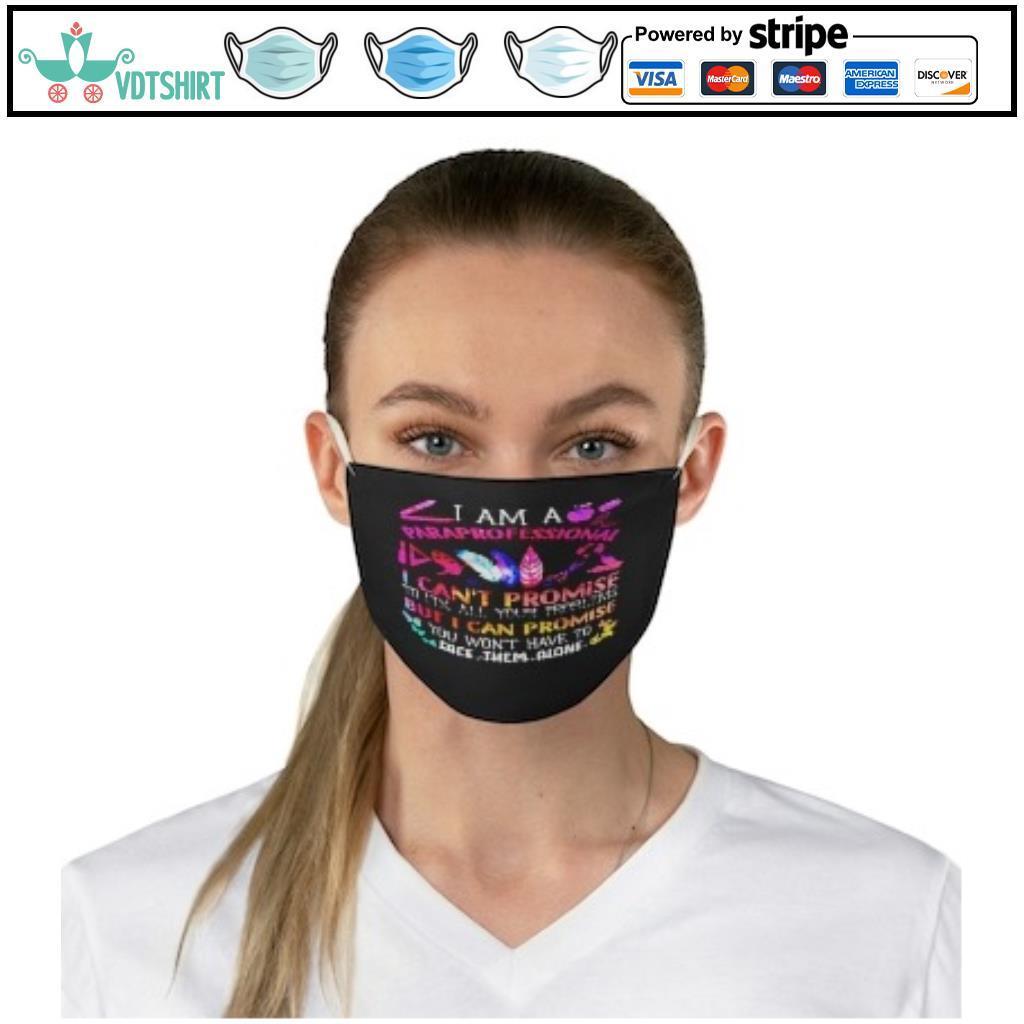 Paraprofessional promise face mask