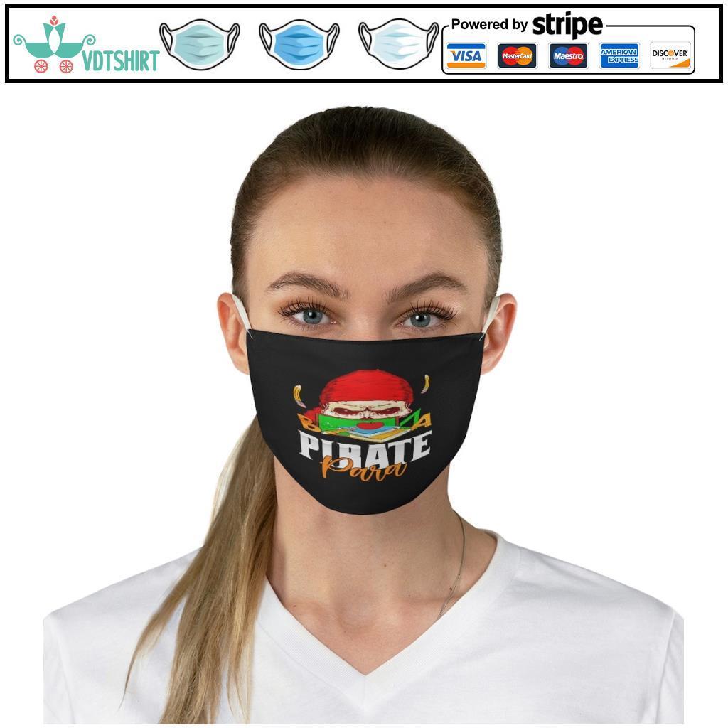 Pirate para halloweenPirate para halloween face mask