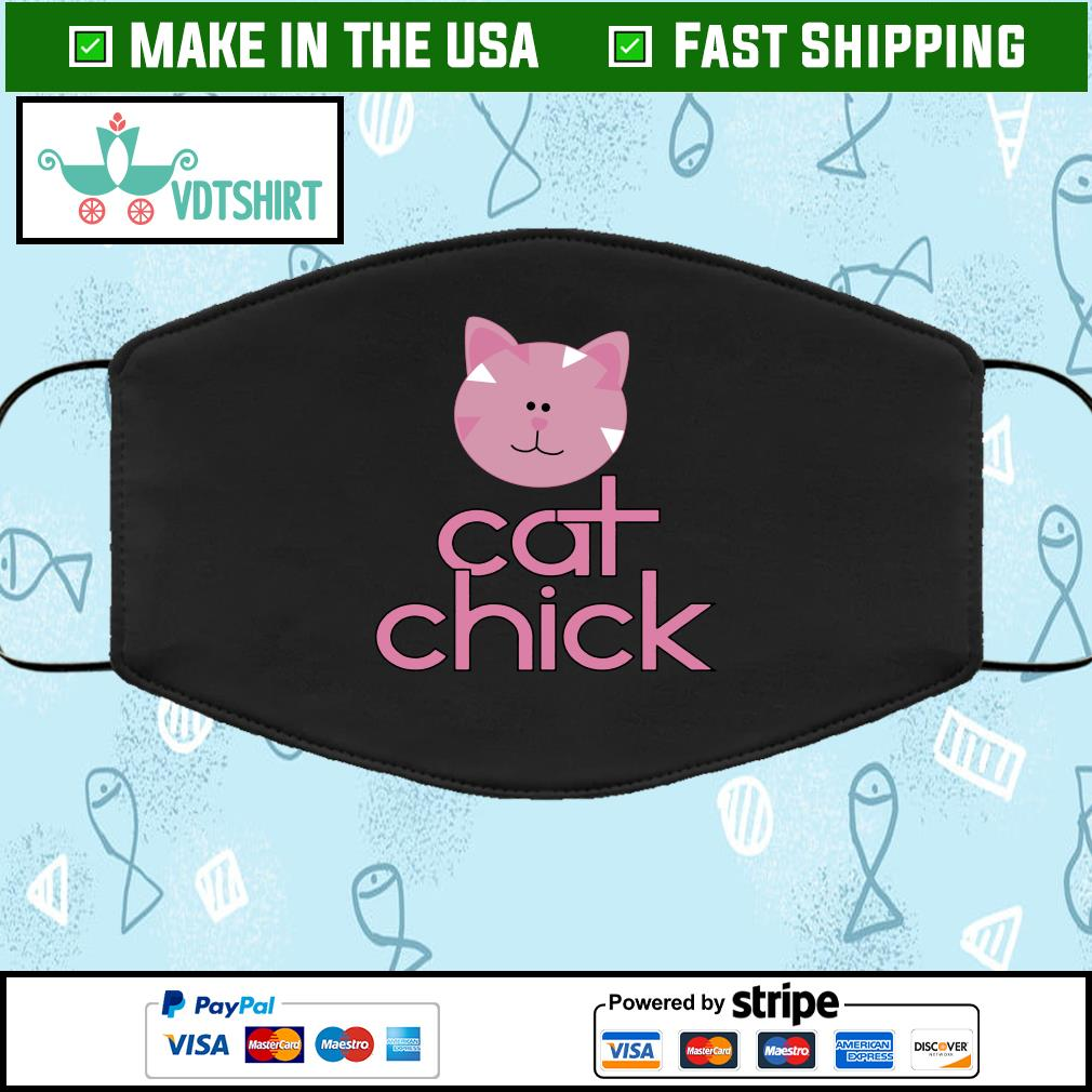 Cat chick Face Mask Washable