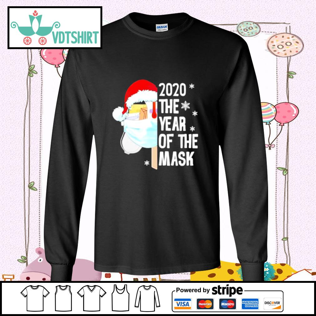 Mailbox Santa 2020 The Years Of The Mask Christmas s longsleeve-tee