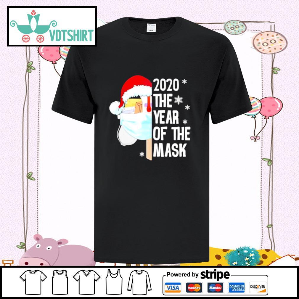 Mailbox Santa 2020 The Years Of The Mask Christmas shirt