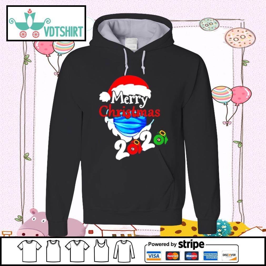 Merry Christmas 2020 Quarantine s hoodie