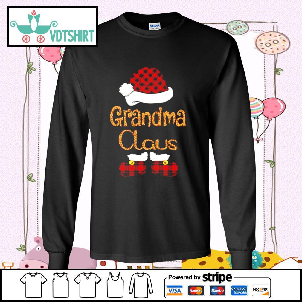 Santa Claus Grandma Claus s longsleeve-tee