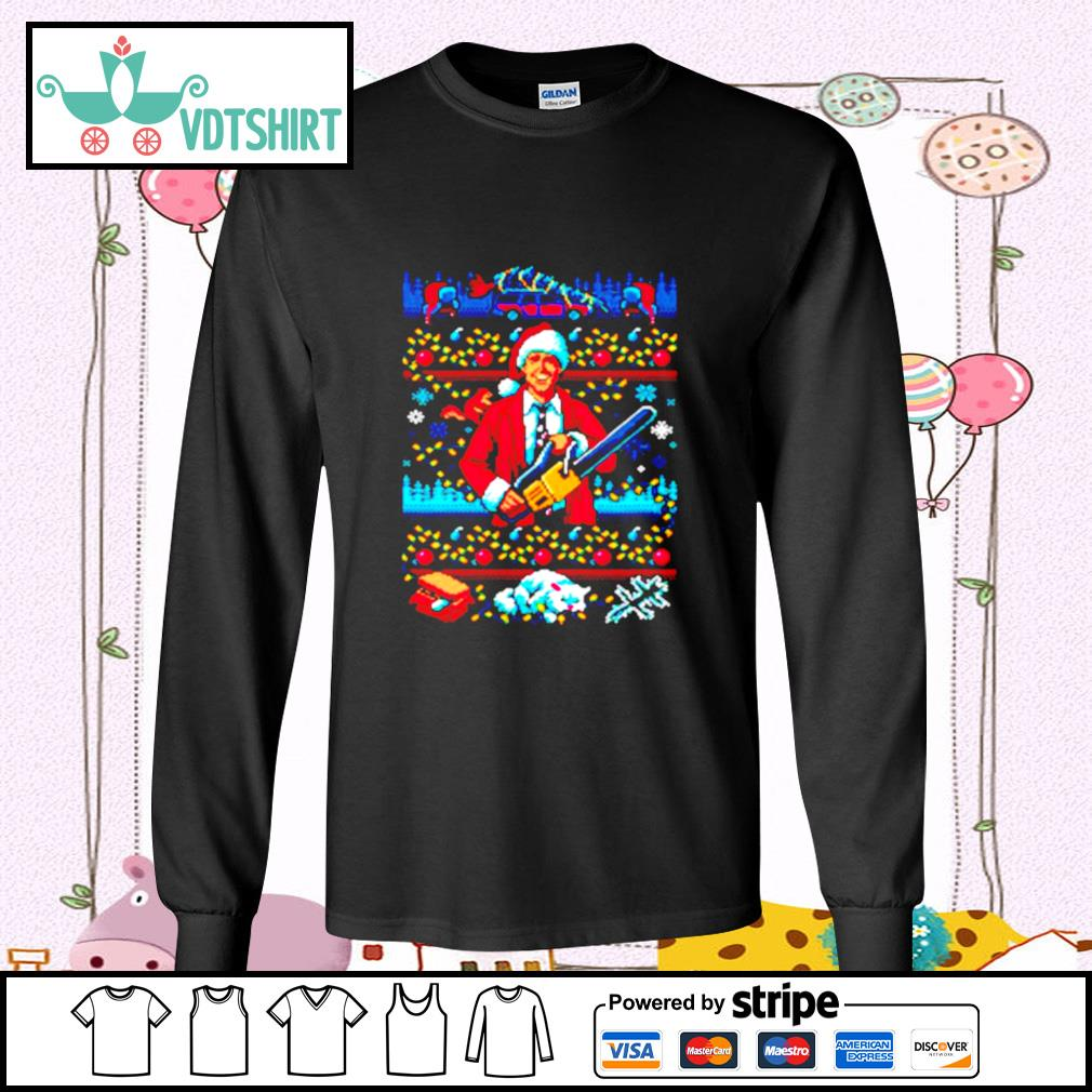 The Jolliest Bunch Of Assholes This Side Of The Nuthouse Ugly Christmas s longsleeve-tee