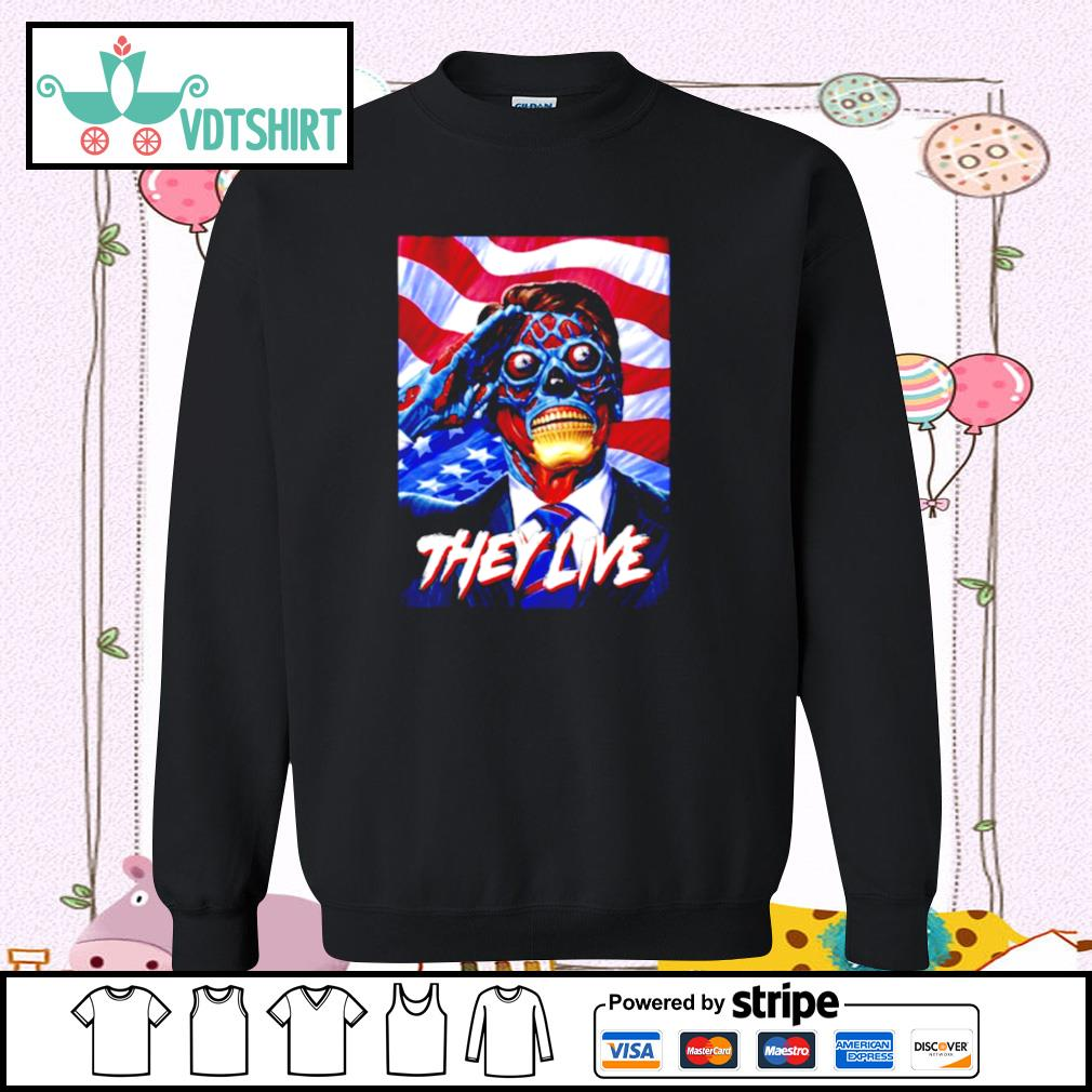 They Do Live ShirtThey Do Live s sweater