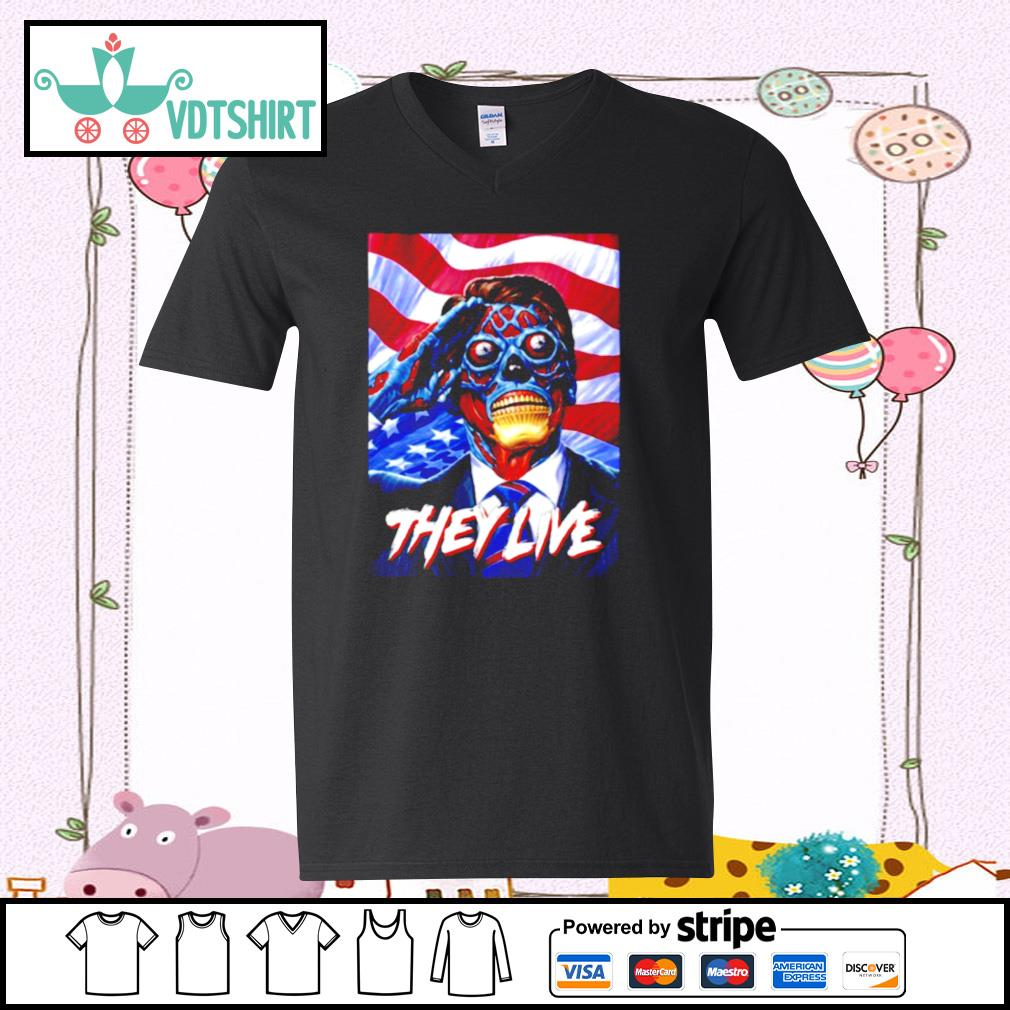 They Do Live ShirtThey Do Live s v-neck t-shirt