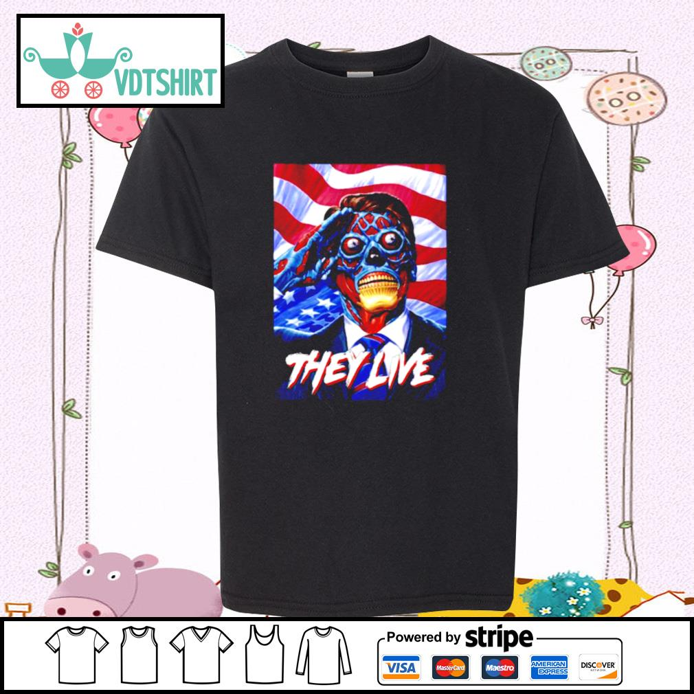They Do Live ShirtThey Do Live s youth-tee