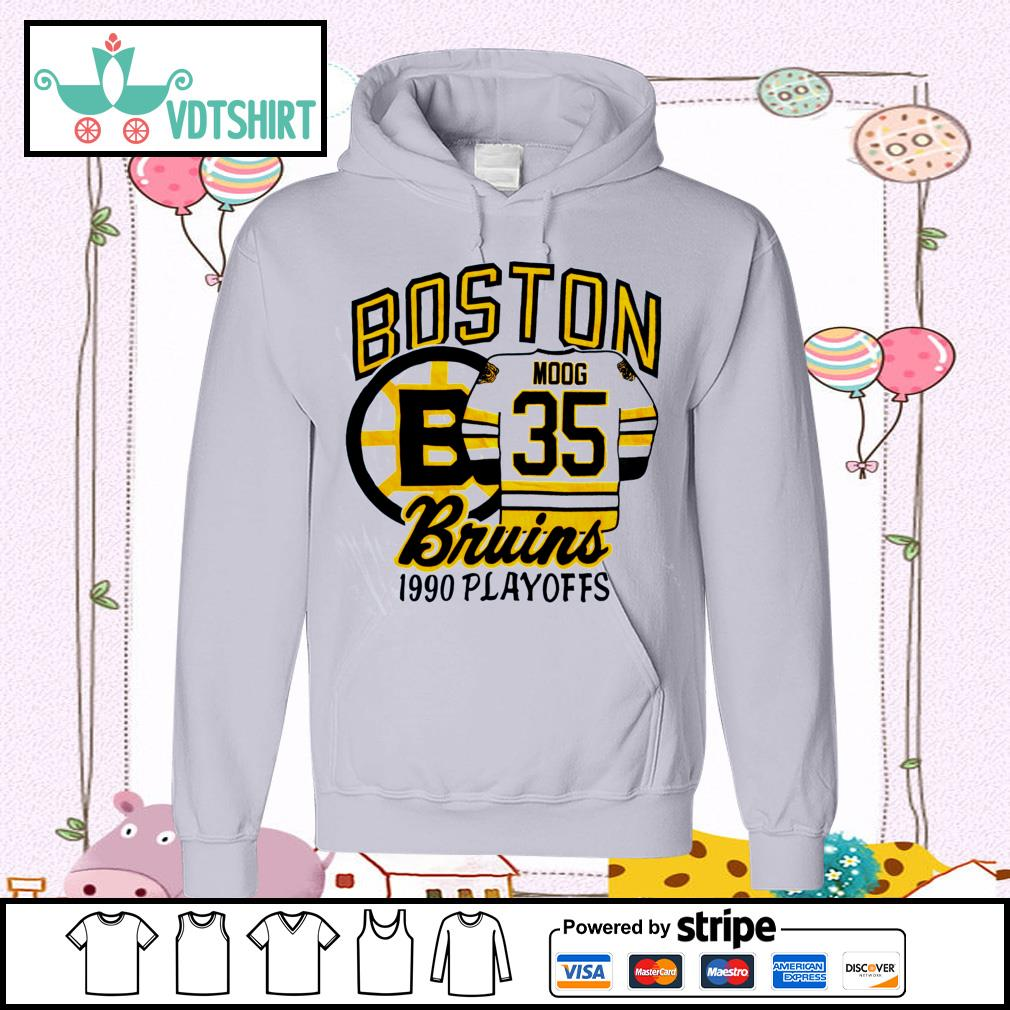 Boston Bruins 1990 playoffs s hoodie